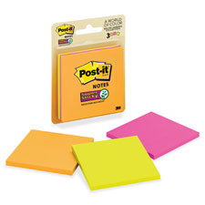 3M Post-it 3x3 Super Sticky Pads