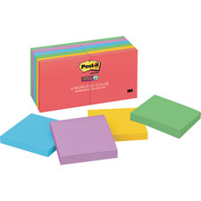 3M Post-it Super Sticky Neon Fusion Pads
