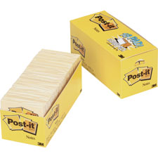 3M Post-it Notes Canary Orig. Pads Cabinet Packs