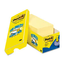 3M Post-it Note Canary Orig. Pop-up Cabinet Packs