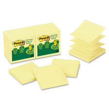 3M Post-it Pop-up Notes Recy. Repositionable Pads