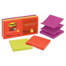 3M Post-it Super Sticky Neon Pop-up Refills