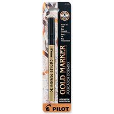 Pilot Extra Fine Gold Marker