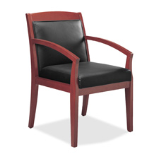 "Guest chairs,22-1/2""x23-1/2""x33-1/2"", sierra cherry frame, sold as 1 carton"