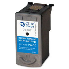 Replacement ink cartridge, pg-50, 510 page yield, black, sold as 1 each