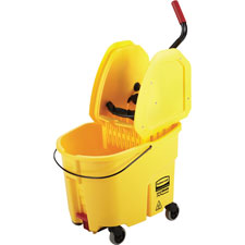 Rubbermaid WaveBrake Down Press Combo Mop Bucket