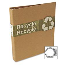 Acco/Wilson Jones Recycled 1 Round-Ring Binder
