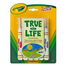 Crayola True to Life Markers