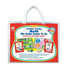 Problem solving math game, w/ 6 games, grade 2, sold as 1 each