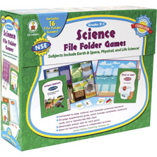 Carson Science File Folder Games