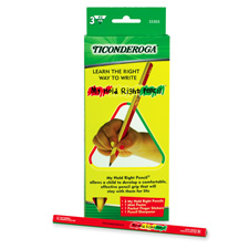 Dixon Ticonderoga My Hold Right Pencils