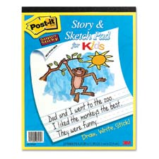 3M Post-it Story and Sketch Pad