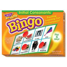 Trend Initial Consonants Bingo Game