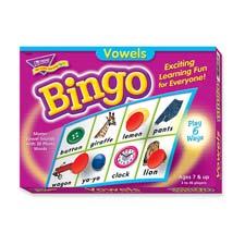 Trend Vowels Bingo Game