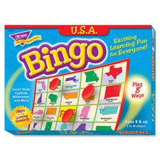 SPR Product By Trend Enterprises - USA Bingo Game 3-36 Players 36 Cards/Mats at Sears.com