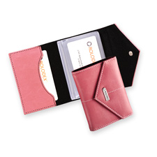 Rolodex Pink Personal Card Case