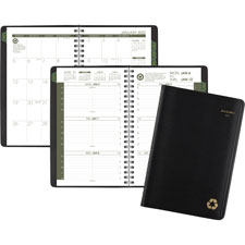 At-A-Glance Recycled Wkly/monthly Appointment Book