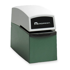 Acroprint Heavy-duty Electric Time Stamp