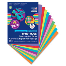 Pacon Tru-Ray Heavyweight Construction Paper
