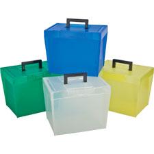 Esselte File Box w/ Handles
