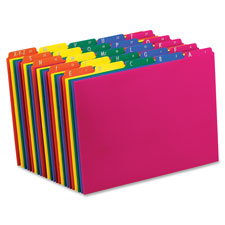 Esselte Top Tab Assorted A-Z File Guides