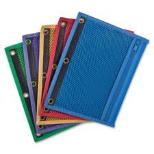 Esselte 3-Hole Punch Zipper Binder Pockets