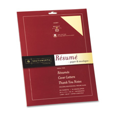 Southworth Professional Resume Paper and Envelopes
