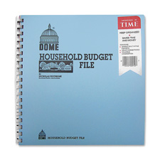 Dome Publishing Household Budget File