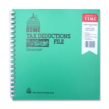 "Tax deduction file, w/ pockets, 11""x9-3/4, sold as 1 each"