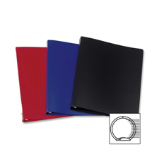 Samsill 28 Gauge Poly 3-Ring Binders