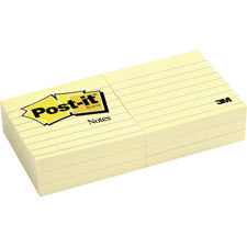 3M Post-it 3x3 Lined Notes