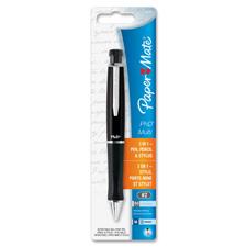 Paper Mate PHD Retractable Multi-Pen/Pencil Combo