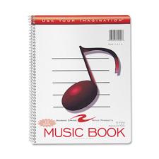 Roaring Spring Wirebound Music Notebook