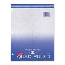 Roaring Spring Quad Ruled Notebook Filler Paper