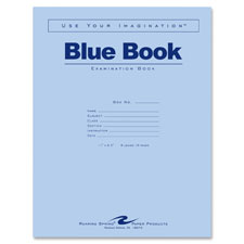 Roaring Spring Blue Examination Books