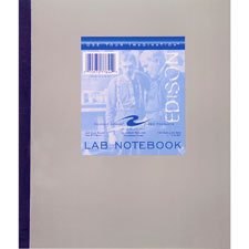 Roaring Spring Edison Quad Ruled Lab Notebook
