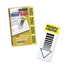 Kleer-Fax Sign Here Docu-Flags