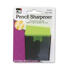 Charles Leonard Deluxe 2-Hole Pencil Sharpener