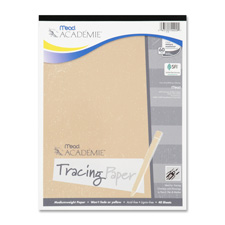 Mead Academie Fade-Resistant Tracing Paper