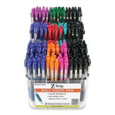 Zebra Z-Grip Retractable Ballpoint Pens Display