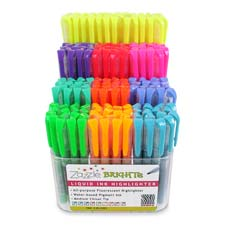 Zebra Zazzle Brites Liquid Ink Highlighters