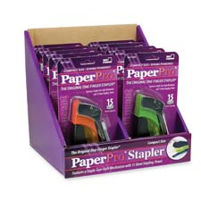Accentra Paper Pro Candy Color Staplers Display