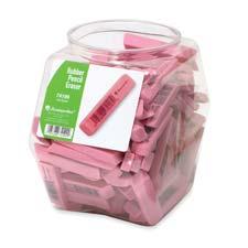 Baumgartens Rubber Erasers Tub Display