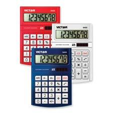 Victor 8-digit Solar Powered Desktop Calculator