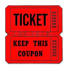 Maco Double Coupon Roll Tickets