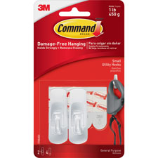 3M Command Small Removable Hooks