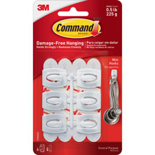 3M Command Mini Removable Hooks