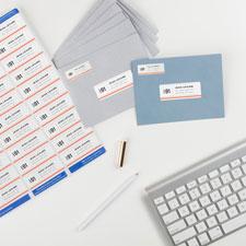 Avery Easy Peel White Inkjet Mailing Labels
