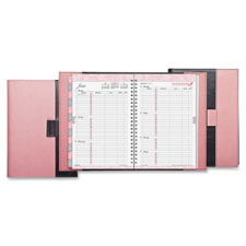 Day-Timer Pink Ribbon 2PPW Wirebound Planner