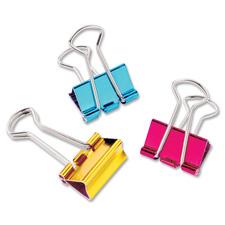 Baumgartens Mini Metallic Binder Clips